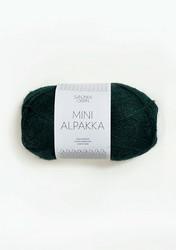 Sandnes Mini Alpakka, syvä petrooli 7272