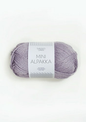 Sandnes Mini Alpakka, dimmig syren 4631