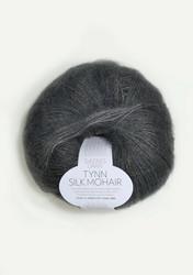 Tunn Silk Mohair, stålgrå 6707