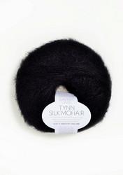 Tunn Silk Mohair, svart 1099