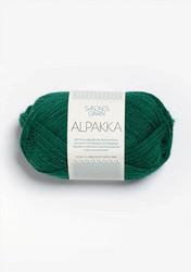 Sandnes Alpakka smaragdi 7755