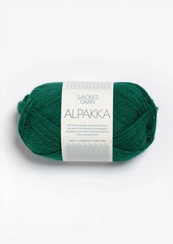 Sandnes Alpakka Smaragd 7755