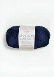 Mandarin Naturell, 5575 marinblå