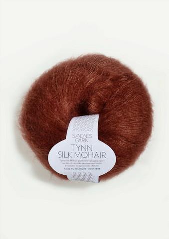 Ohut Silk Mohair, ruoste 3554