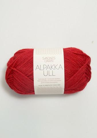 Alpakka Ull, punainen 4219