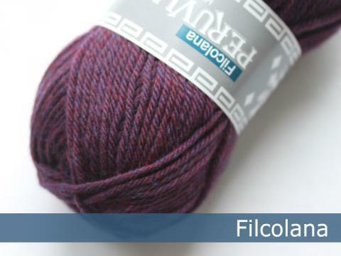 Peruvian Highland Wool, 806 aubergine