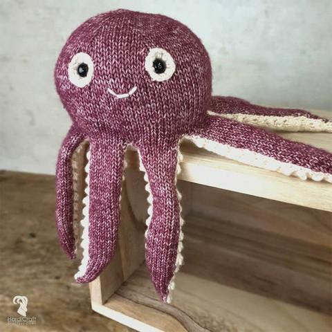 DIY-paket: Olivia Octopus amigurumi