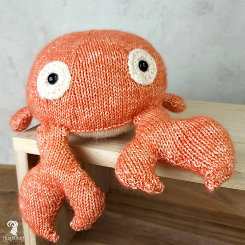 DIY-paket: Karel Crab amigurumi
