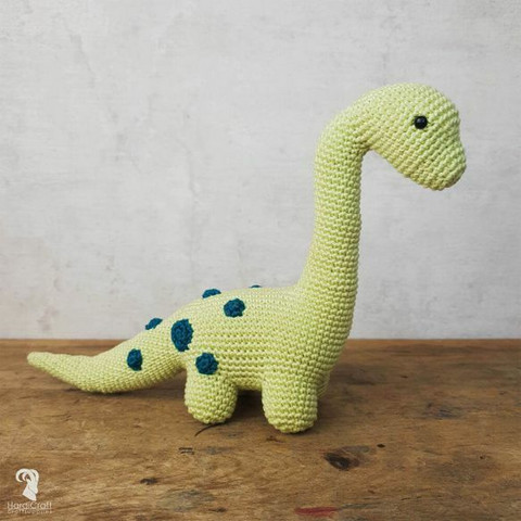 DIY-paket: Brontosaurus amigurumi