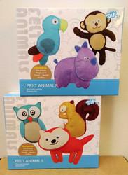 Pysselpaket för barn: Djur