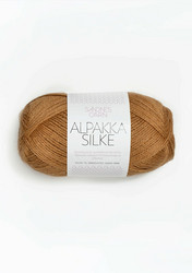 Sandnes Alpakka Silke, bränd gulbrun 2544