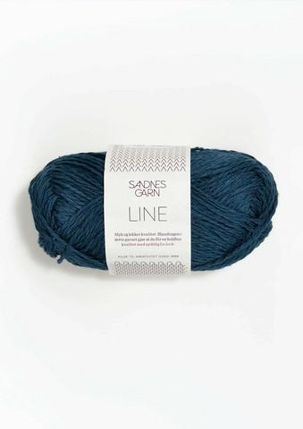 Sandnes Line, mörkblå 6364