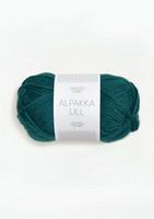 Alpakka Ull, syvä petrooli 7272