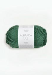 Alpakka Ull, tummanvihreä 8063