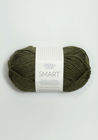 Sandnes Smart, meleerattu vihreä 9572