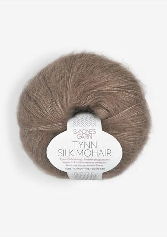 Tunn Silk Mohair, ekollon 3161