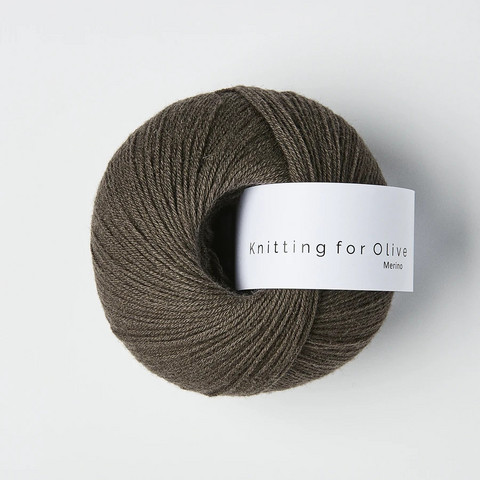 Knitting for Olive Merino Dark Moose