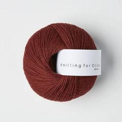 Knitting for Olive Merino Claret