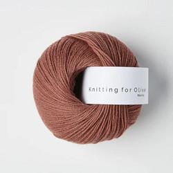 Knitting for Olive Merino Plum Rose
