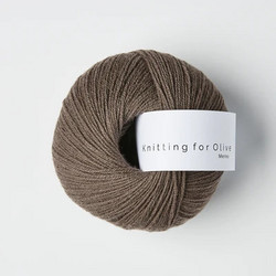 Knitting for Olive Merino Plum Clay