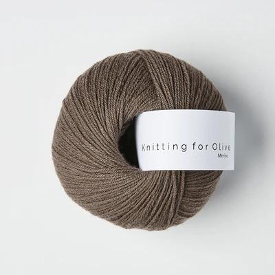 Knitting for Olive Merino Plum Clay