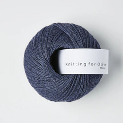 Knitting for Olive Merino Dark Blue