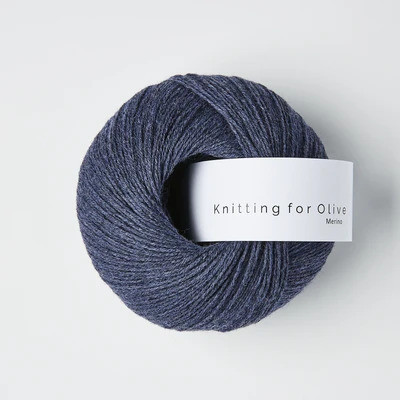 Knitting for Olive Merino Dark Blue