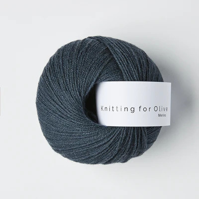 Knitting for Olive Merino Deep Petroleum Blue