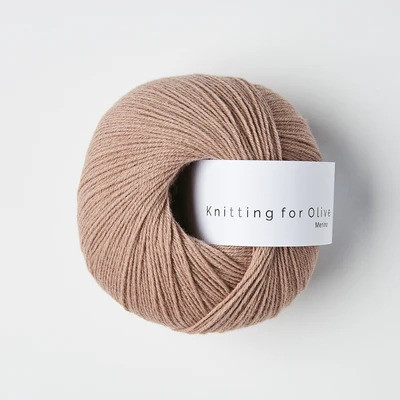 Knitting for Olive Merino Rose Clay