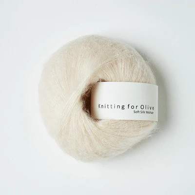 Knitting for Olive Soft Silk Mohair Cloud