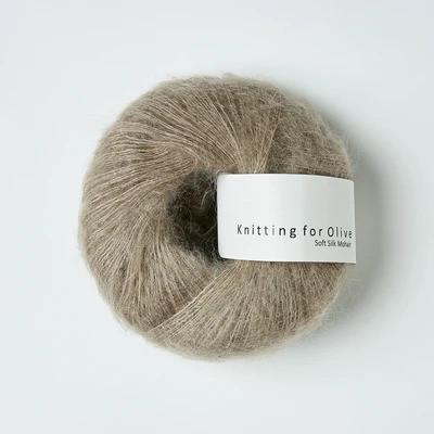 Knitting for Olive Soft Silk Mohair Linen