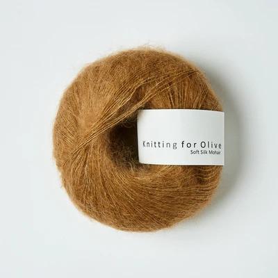 Knitting for Olive Soft Silk Mohair Caramel