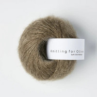 Knitting for Olive Soft Silk Mohair Hazel