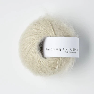 Knitting for Olive Soft Silk Mohair Marzipan