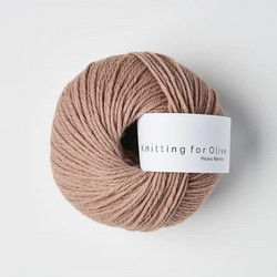 Knitting for Olive Heavy Merino Rose Clay