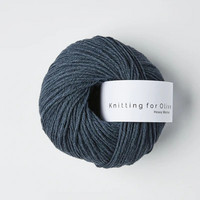 Knitting for Olive Heavy Merino Deep Petroleum Blue