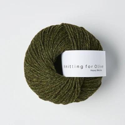 Knitting for Olive Heavy Merino Slategreen