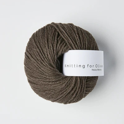 Knitting for Olive Heavy Merino Dark Moose
