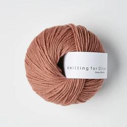 Knitting for Olive Heavy Merino Terracotta Rosa