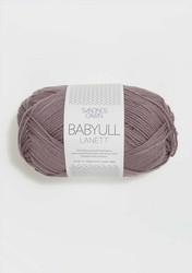 Sandnes Babyull Lanett, lila 4331