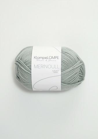 Sandnes Klompelompe merinoull, ljusblåpetrol 6521
