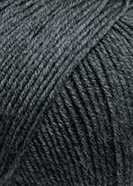 Lang Merino 120, mörk grå 0270
