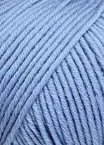Lang Merino +, blå 0134