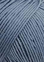 Lang Merino 120, blågrå 0124