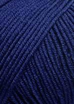 Lang Merino 120, mörkblå  0035