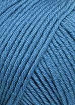 Lang Merino +,gråblå 0174