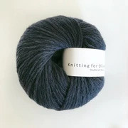 Knitting for Olive Double Soft Merino, Deep Petroleum Blue