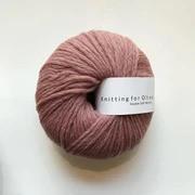 Knitting for Olive Double Soft Merino, Plum Rose