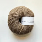 Knitting for Olive Double Soft Merino, Soft Cognac