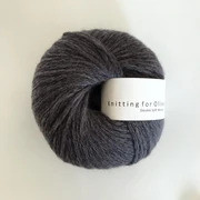 Knitting for Olive Double Soft Merino, Charcoal Grey